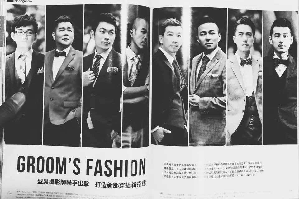 [報導] sosi x 型男新郎 Groom's Fashion|sosi婚紗